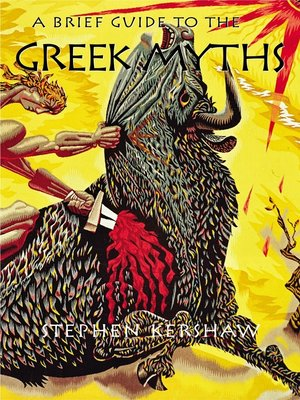 cover image of A Brief Guide to the Greek Myths