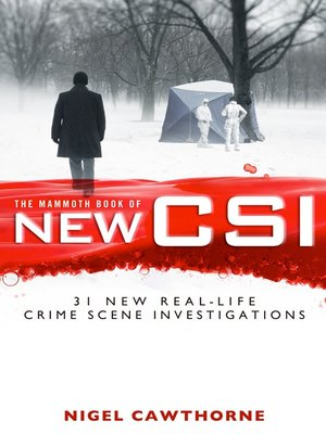 cover image of The Mammoth Book of New CSI