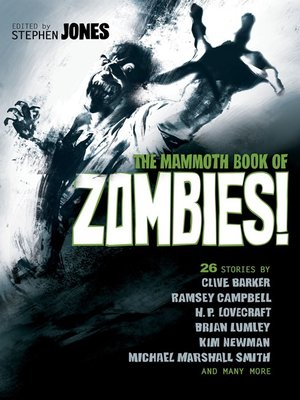 cover image of The Mammoth Book of Zombies
