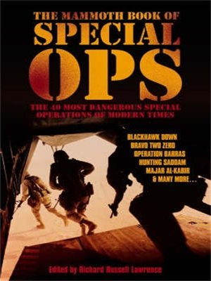 cover image of The Mammoth Book of Special Ops