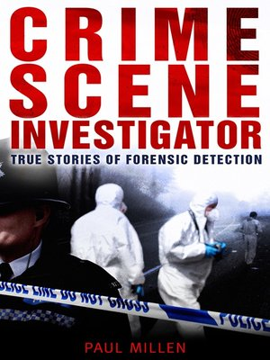 cover image of Crime Scene Investigator