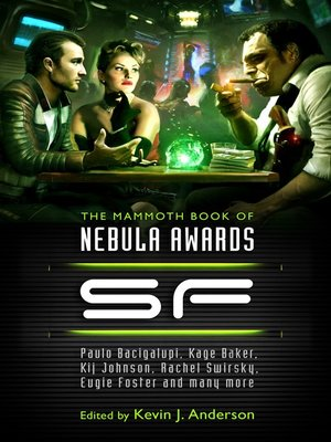 cover image of The Mammoth Book of Nebula Awards SF