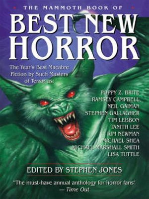 cover image of The Mammoth Book of Best New Horror 16