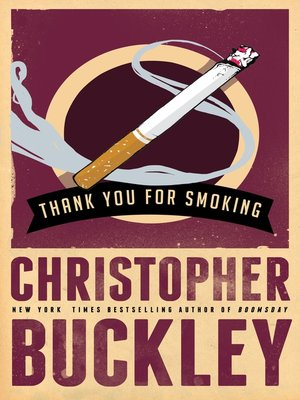 cover image of Thank You for Smoking