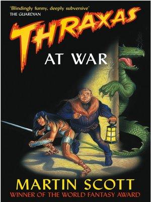 cover image of Thraxas At War
