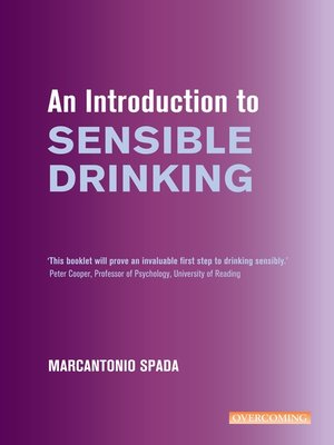 cover image of An Introduction to Sensible Drinking