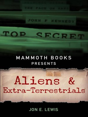 cover image of Mammoth Books presents Aliens and Extra-Terrestrials