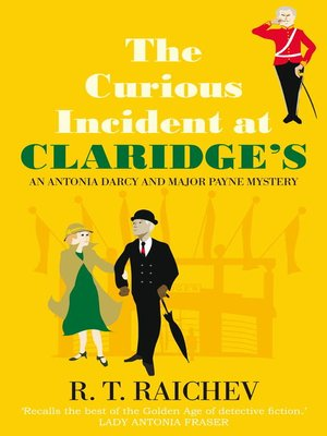 cover image of The Curious Incident at Claridge's