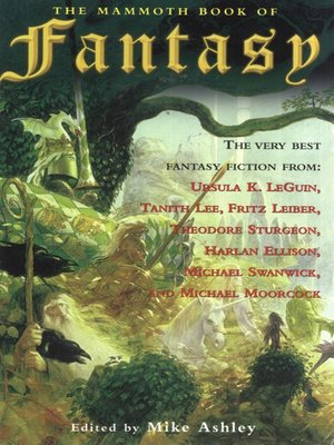 cover image of The Mammoth Book of Fantasy