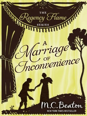 cover image of A Marriage of Inconvenience