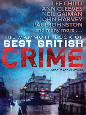 cover image of The Mammoth Book of Best British Crime 10