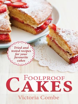 cover image of Foolproof Cakes