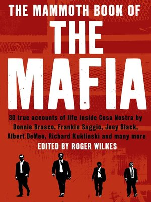 cover image of The Mammoth Book of the Mafia