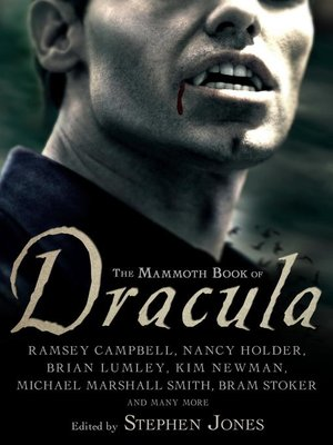 cover image of The Mammoth Book of Dracula
