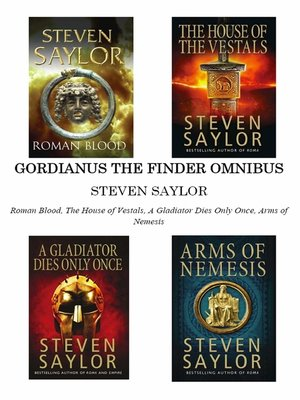 cover image of Gordianus the Finder Omnibus (Books 1-4)