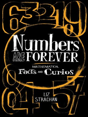 cover image of Numbers Are Forever