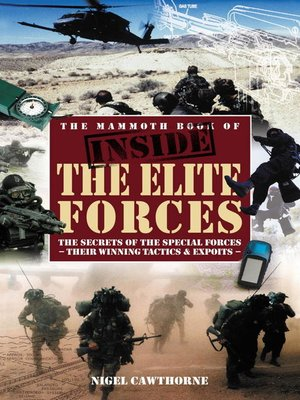 cover image of The Mammoth Book of Inside the Elite Forces