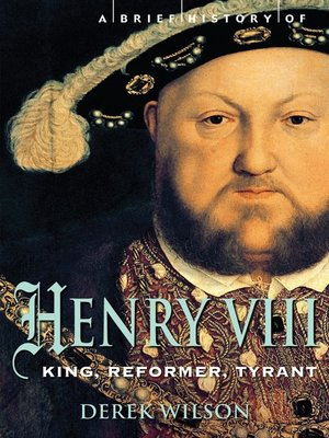 cover image of A Brief History of Henry VIII