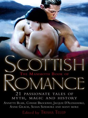cover image of The Mammoth Book of Scottish Romance