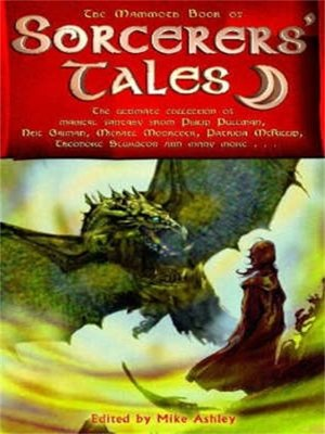 cover image of The Mammoth Book of Sorceror's Tales