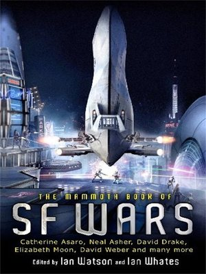 cover image of The Mammoth Book of SF Wars
