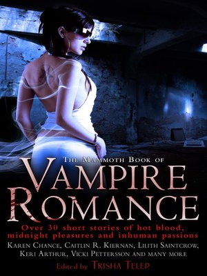 cover image of The Mammoth Book of Vampire Romance