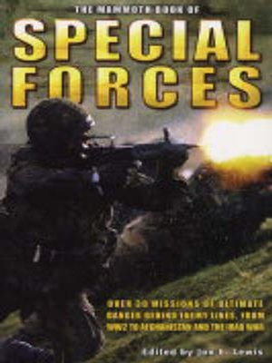 cover image of The Mammoth Book of SAS and Special Forces