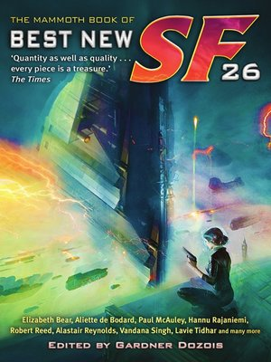 cover image of The Mammoth Book of Best New SF 26