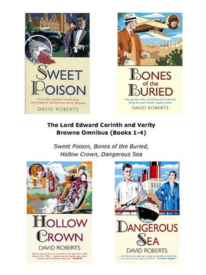 cover image of The Lord Edward Corinth and Verity Browne Omnibus, Books 1 - 4