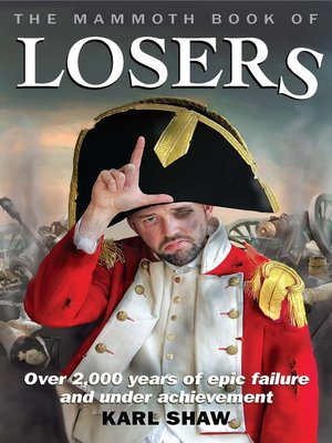 cover image of The Mammoth Book of Losers