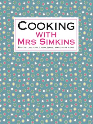 cover image of Cooking With Mrs Simkins