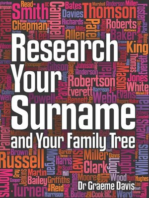 cover image of Research Your Surname and Your Family Tree