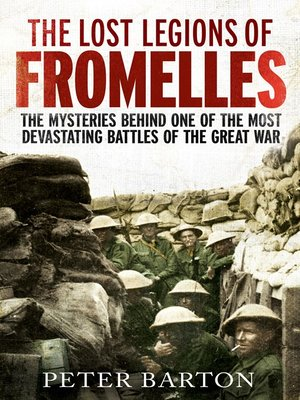 cover image of The Lost Legions of Fromelles