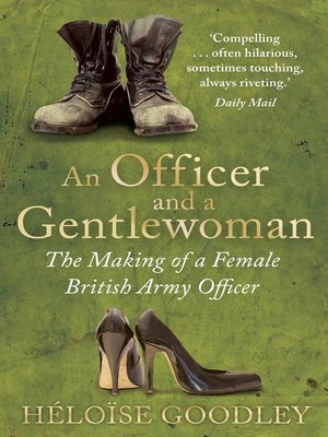 cover image of An Officer and a Gentlewoman