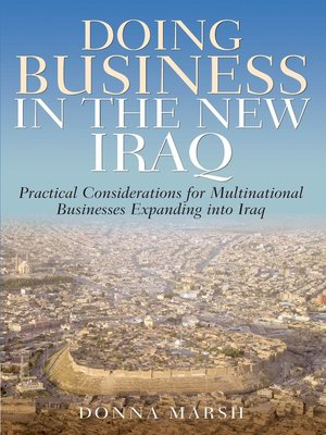 cover image of Doing Business in the New Iraq