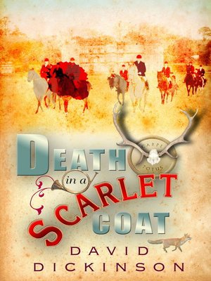 cover image of Death in a Scarlet Coat
