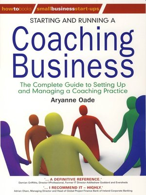 cover image of Starting and Running a Coaching Business