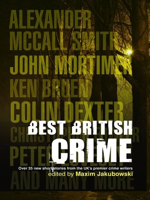 cover image of The Mammoth Book of Best British Crime