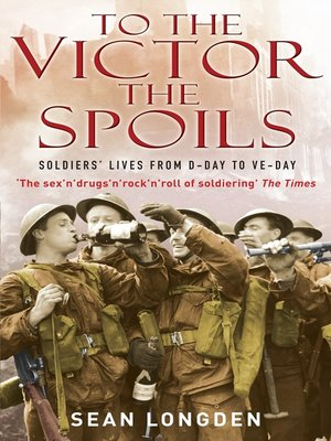cover image of To the Victor the Spoils