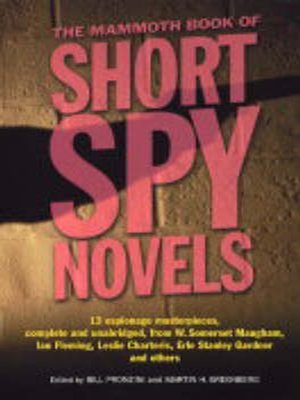 cover image of The Mammoth Book of Short Spy Novels