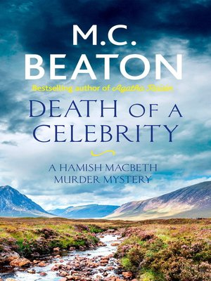 cover image of Death of a Celebrity