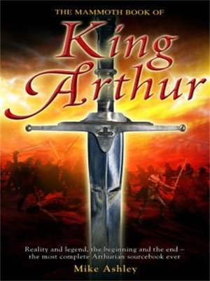 cover image of The Mammoth Book of King Arthur