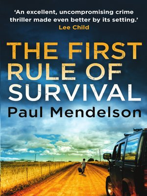 cover image of The First Rule of Survival