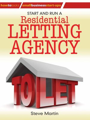 cover image of Start and Run a Residential Letting Agency