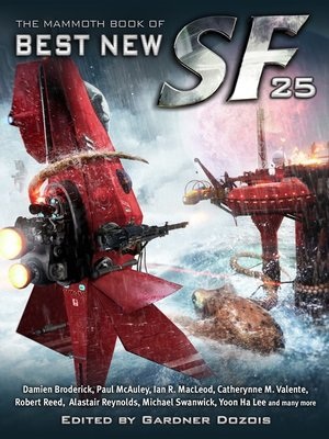 cover image of The Mammoth Book of Best New SF 25
