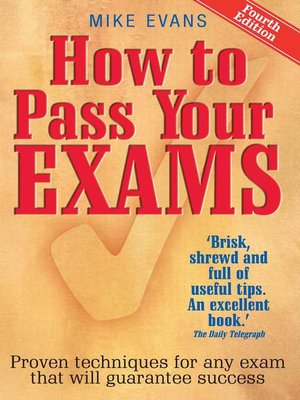 cover image of How to Pass Your Exams