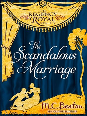 cover image of The Scandalous Marriage