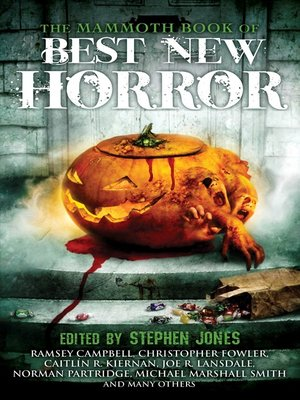 cover image of The Mammoth Book of Best New Horror 22