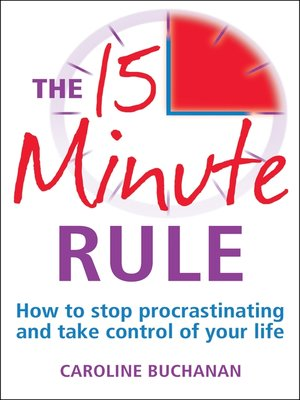 cover image of The 15 Minute Rule