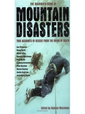 cover image of The Mammoth Book of Mountain Disasters